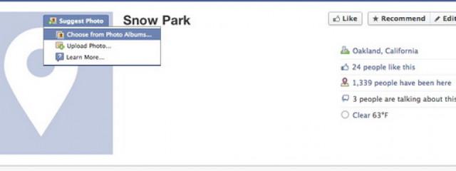 Facebook разрешит пользователям загружать изображения профиля для публичных страниц