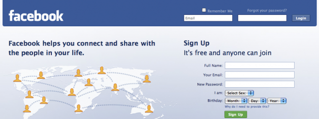 Facebook передумал делать рекламную сеть