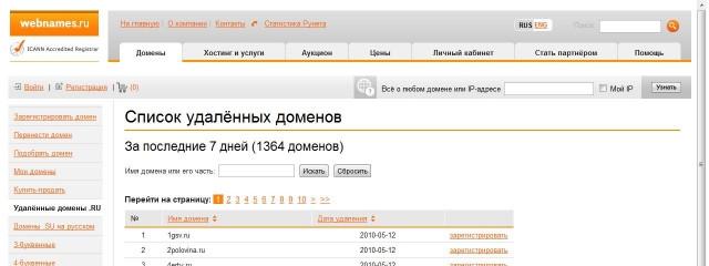 Несколько слов о Webnames.ru
