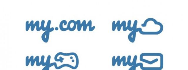 Из Mail.ru «утекли» логотипы сервисов My.com