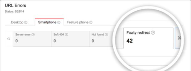 Google предупредит о неправильной переадресации