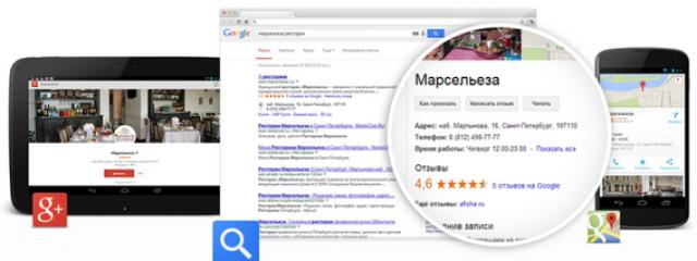 Google представил сервис для частных предпринимателей «Мой бизнес»