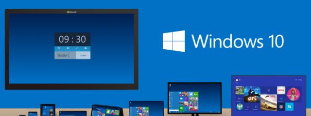 Microsoft представила новую операционную систему Windows 10