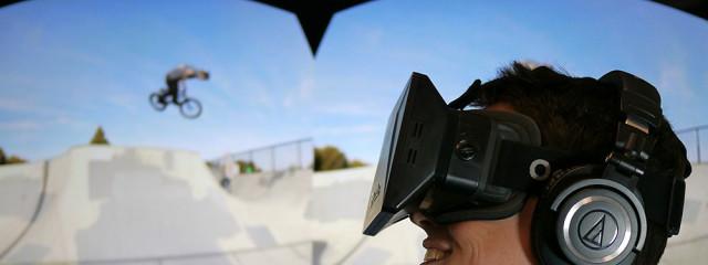 Microsoft поиграла с виртуальной реальностью