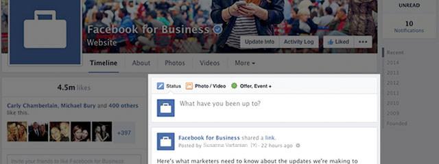 Компания Facebook обновила дизайн публичных страниц в мобильной версии ведущей мировой социальной сети.