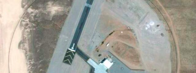 Google показал секретную военную базу США