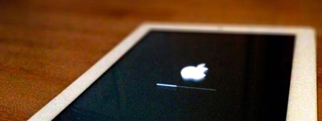 Обновление iOS превращает iPad в кирпич