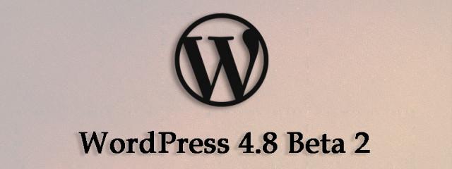 Релиз WordPress 4.8 «Evans»