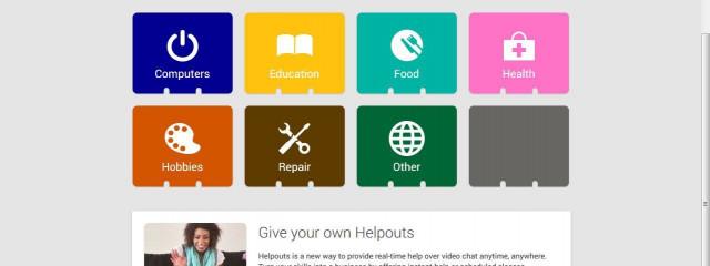 Helpouts – новая веб-служба от Google