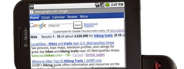 Новые форматы рекламных объявлений в мобильном поиске Google