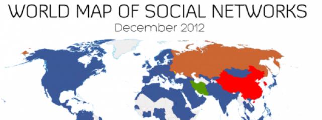 Facebook стал самой популярной социальной сетью по итогам года
