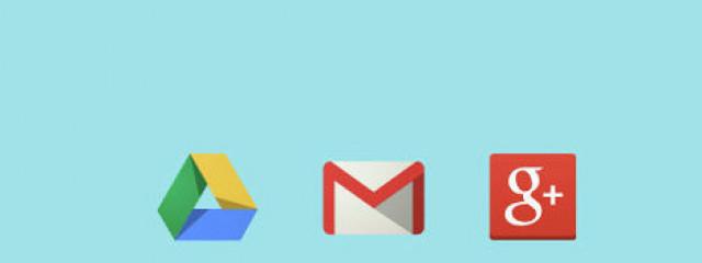 Сервисы Google дают 15 Гбайт для данных пользователя