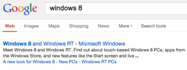 Google удаляет в выдаче видимые URL-ы