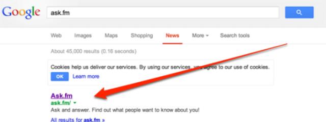 Поиск Google News стал показывать ссылки на сайты по навигационным запросам