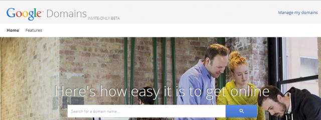 Google запускает сервис для выбора, покупки и продажи доменных имен