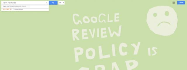 Google приостанавливает работу Map Maker