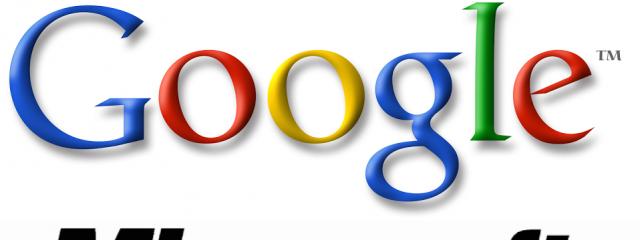 Microsoft и Google договорились о прекращении патентных войн