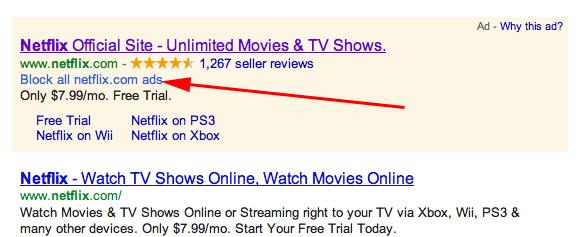 Google разрешил блокировать контекстную рекламу
